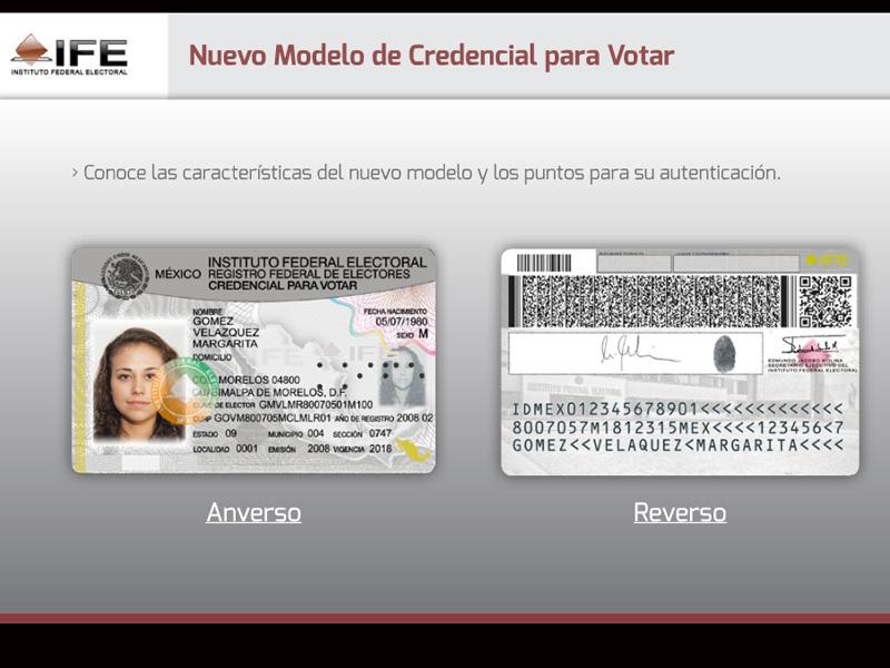 ine aprueba nuevo modelo de credencial para votar revista líder