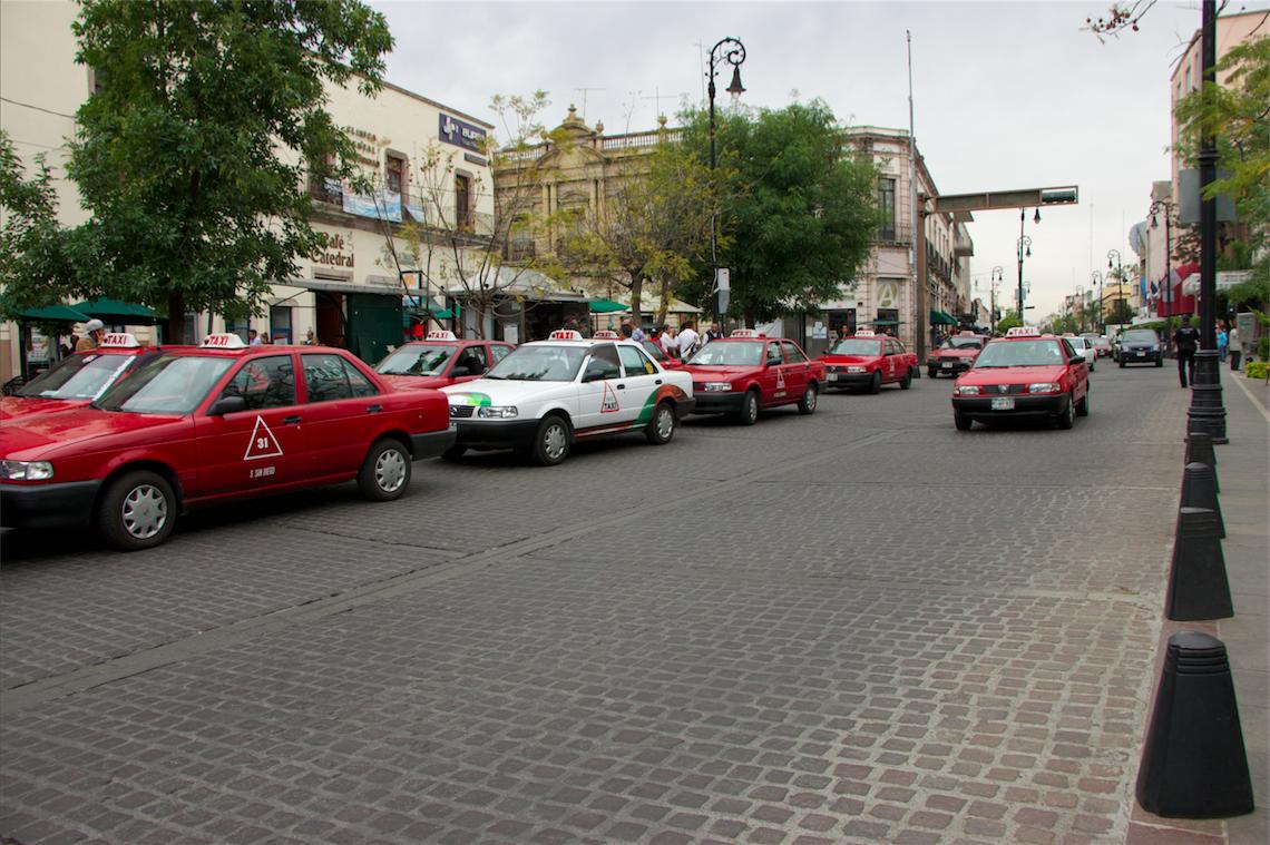 taxis manifestación uber