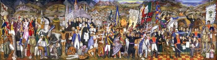 El Grito De Dolores En Dos Murales Impresionantes Revista Lider