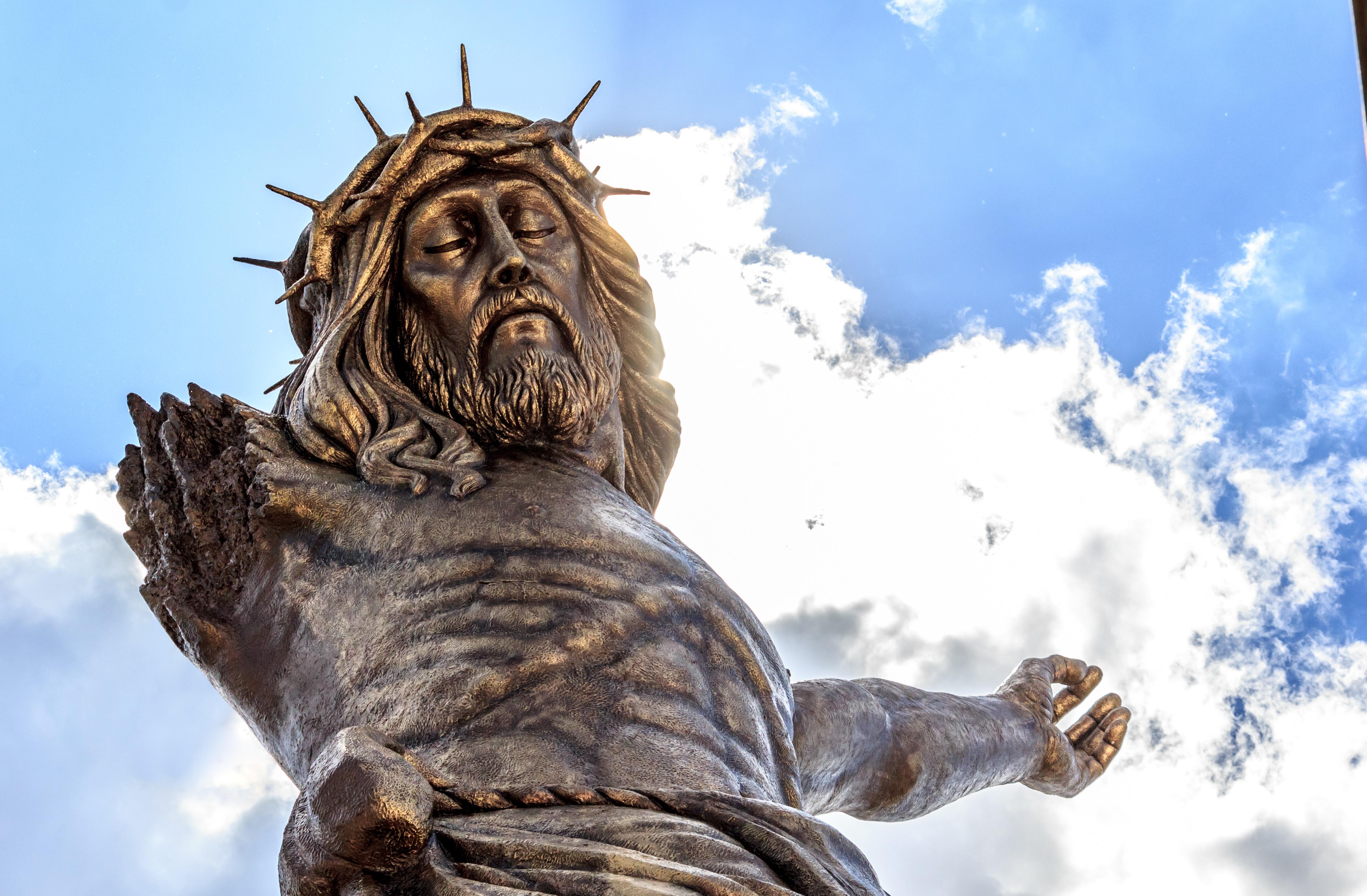 El Cristo Roto de San José de Gracia se ubica a unos 38 kilómetros de la ciudad de Aguascalientes.