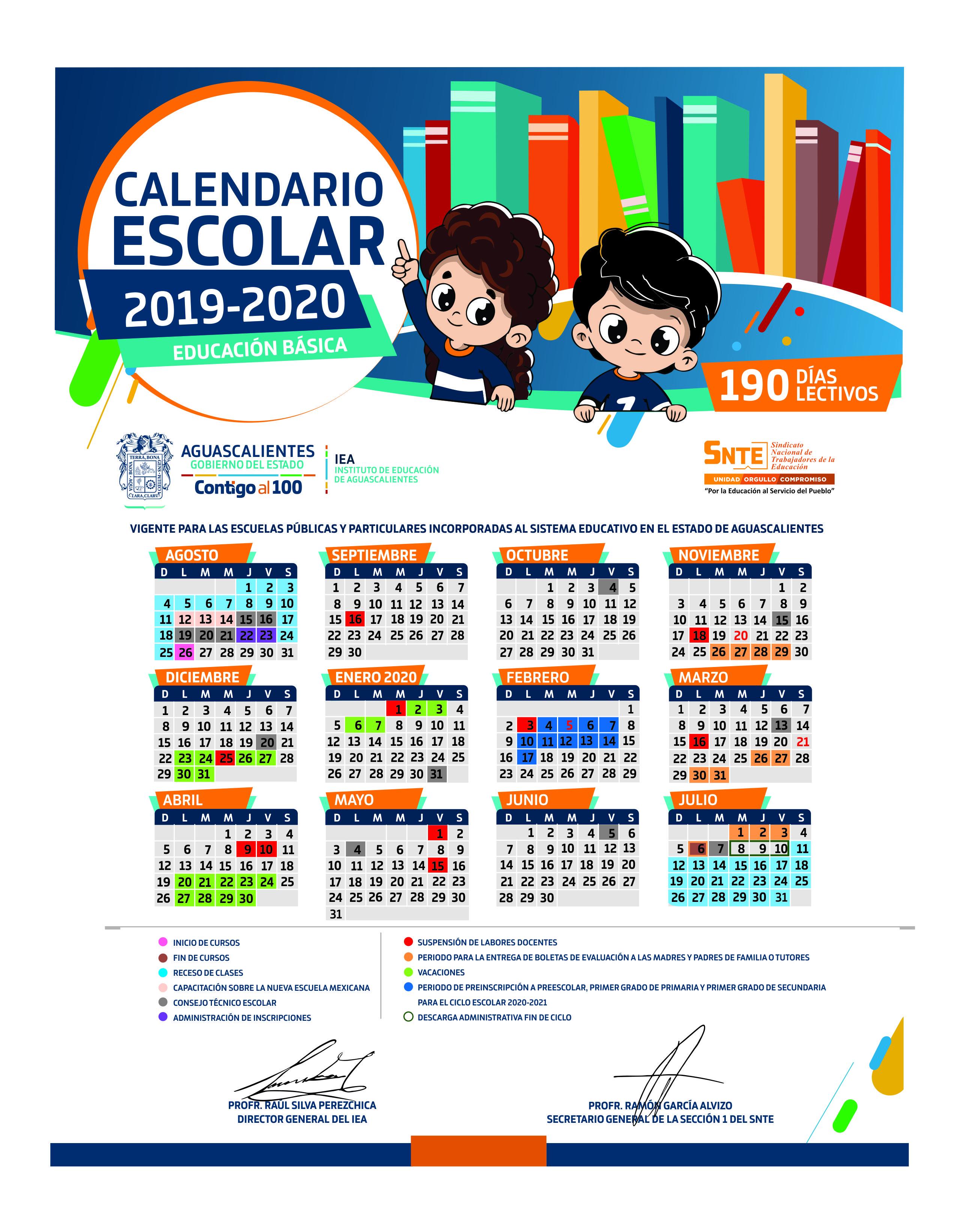 Calendario 2020 Marzo Abril.Calendario Escolar 2019 2020 Contempla Tres Super Puentes