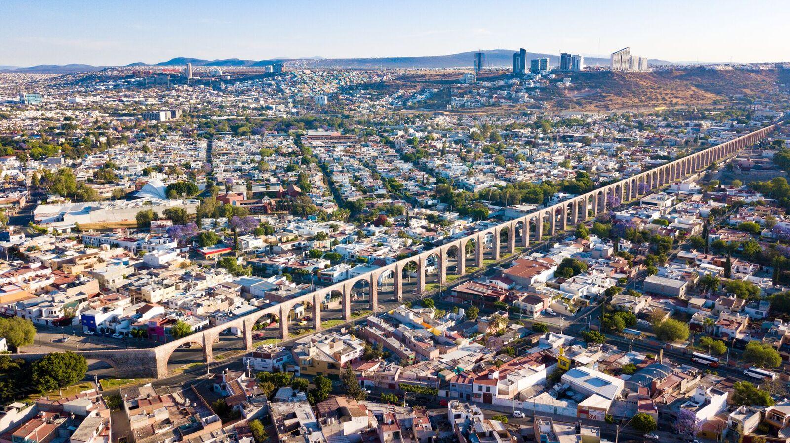 panorámica de la ciudad de Querétaro