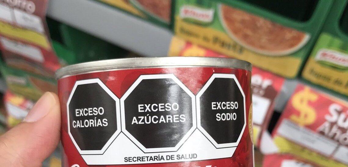 OMS premia a México por el nuevo etiquetado para alimentos procesados